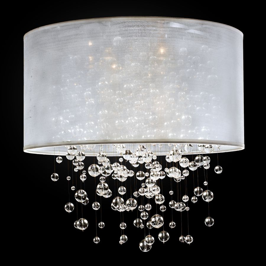 Bubble Light Fixture Silhouette 590 Glow 174 Lighting