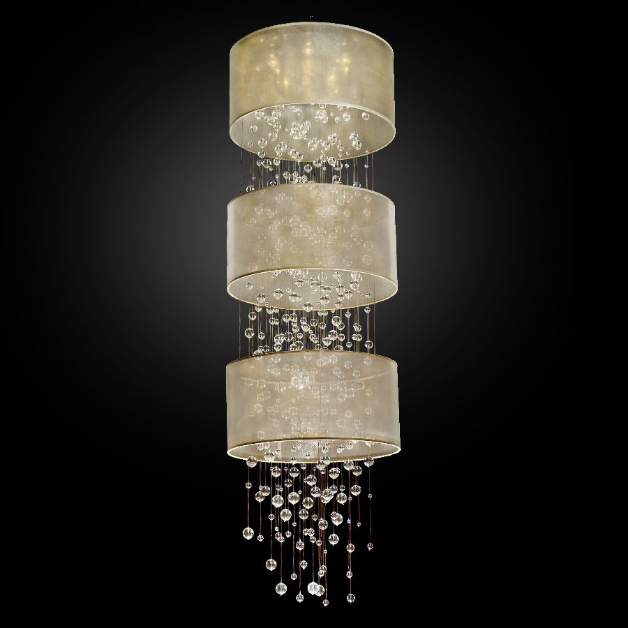 Modern Foyer Chandelier | Silhouette 590 by GLOW® Lighting.;