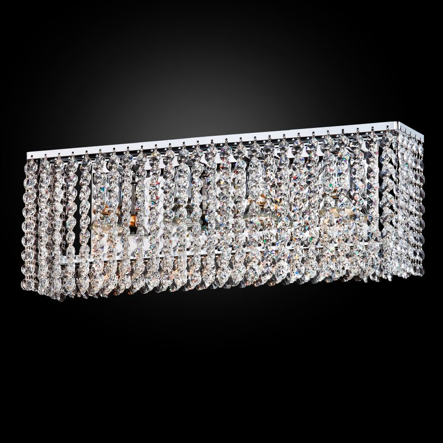 Crystal wall sconce Urban Chic by GLOW® Lighting