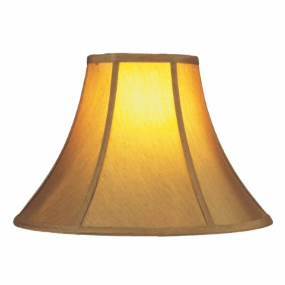 Set of 2 Gold Silk Bell 14″ Lamp Shades | SH509