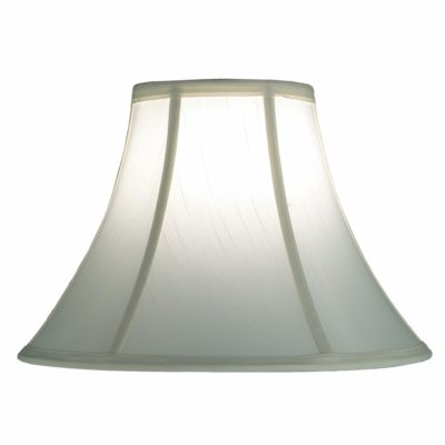 Silk Lamp Shade – White Bell Lamp Shade | SH501