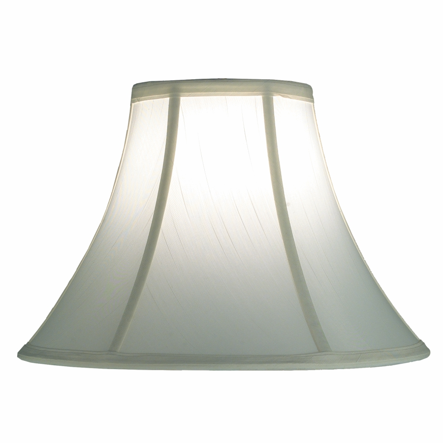 Silk Lamp Shade - White Bell Lamp Shade | SH501