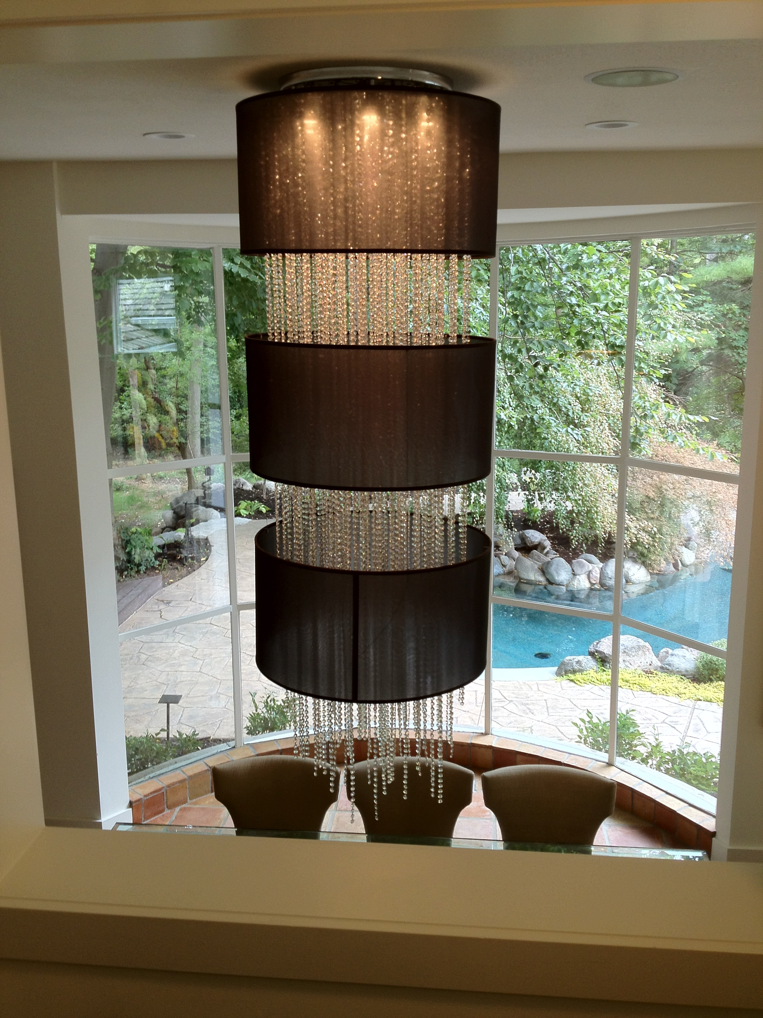 Glow Lighting Foyer Crystal Chandelier 4