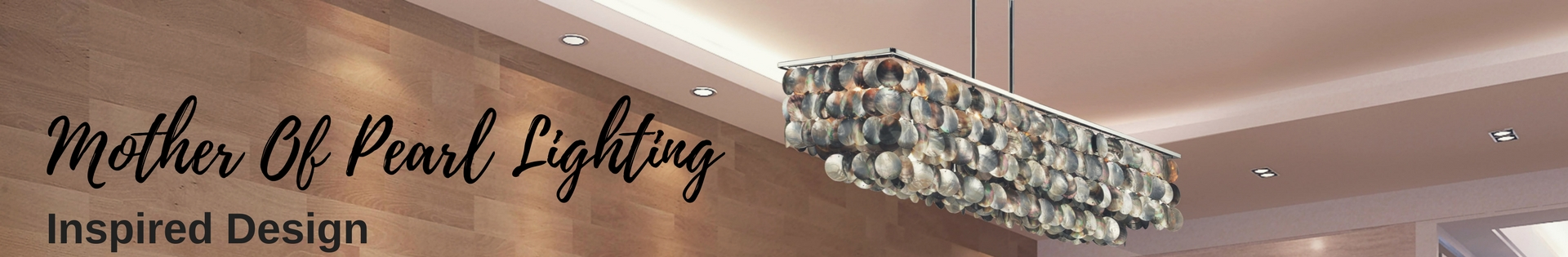 1920X315 Mother Of Pearl Product Category Banner Glow Lighting