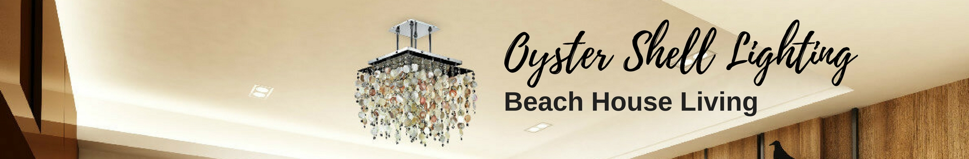 1920X315 Oyster Shell Lighting Product Category Banner Glow Lighting