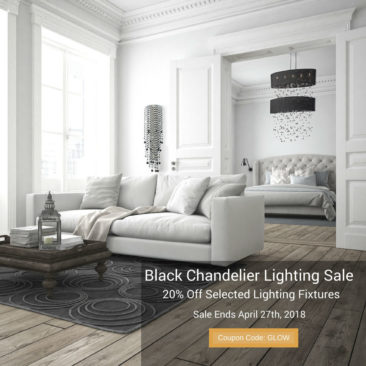 Black Chandelier Lighting Sale