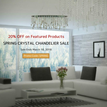 Spring Crystal Chandelier Sale
