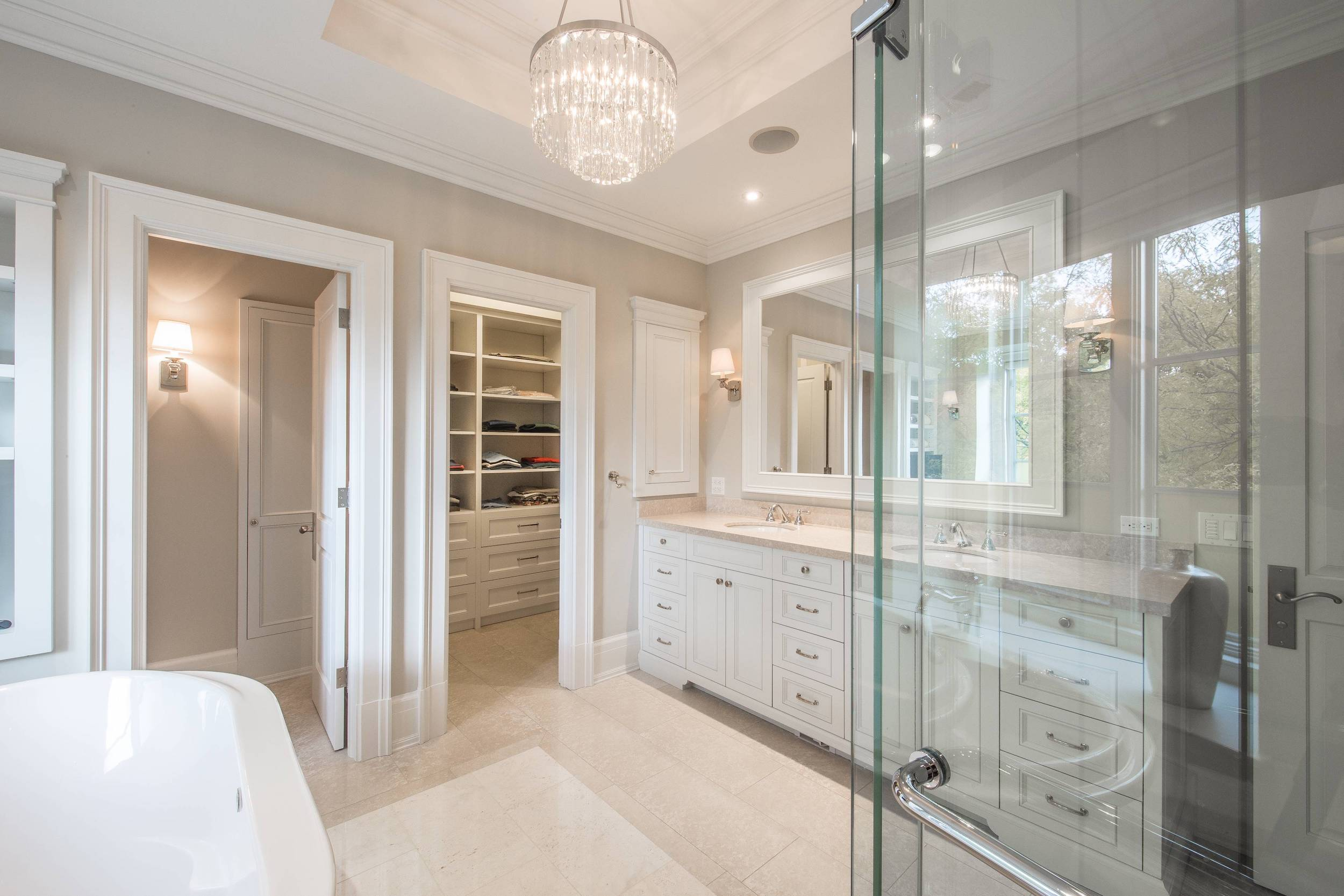 Master Bathroom Private Residence Glow Lighting