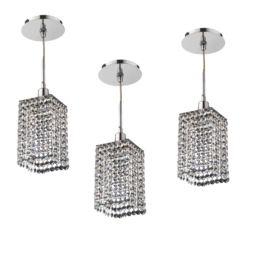 Crystal Mini Pendants | Fuzion X by GLOW® Lighting