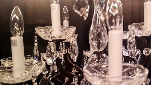How to Clean a Crystal Chandelier blog bobeches and crystals