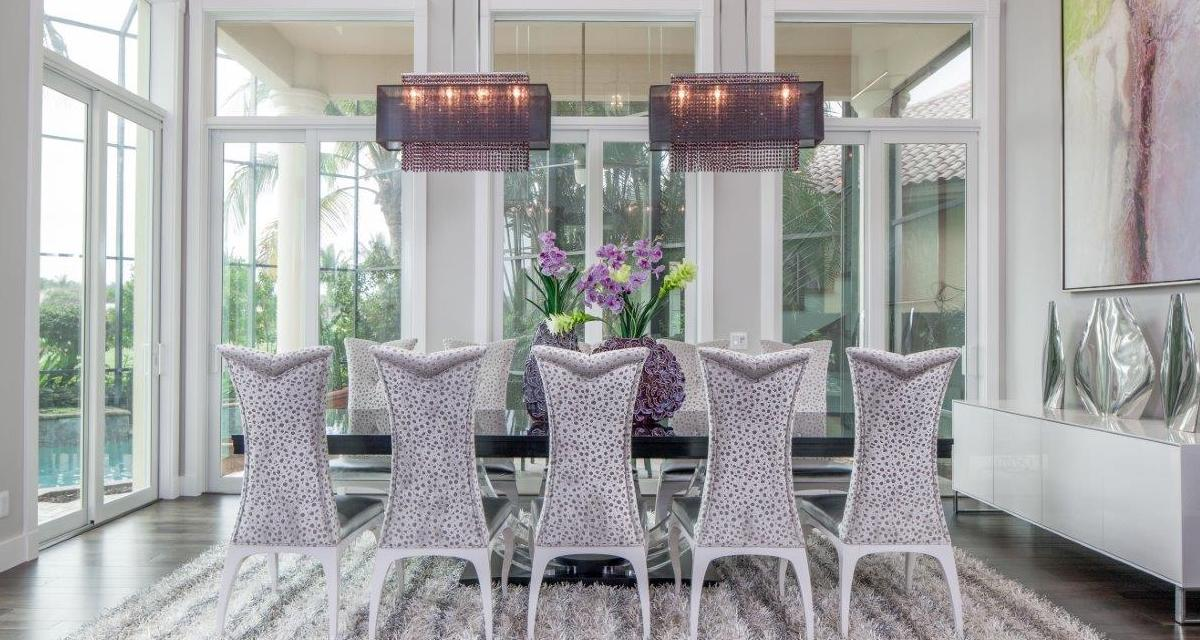 How to Size a Chandelier blog customized black shade color crystal chandeliers for Dwayne Bergman Interiors