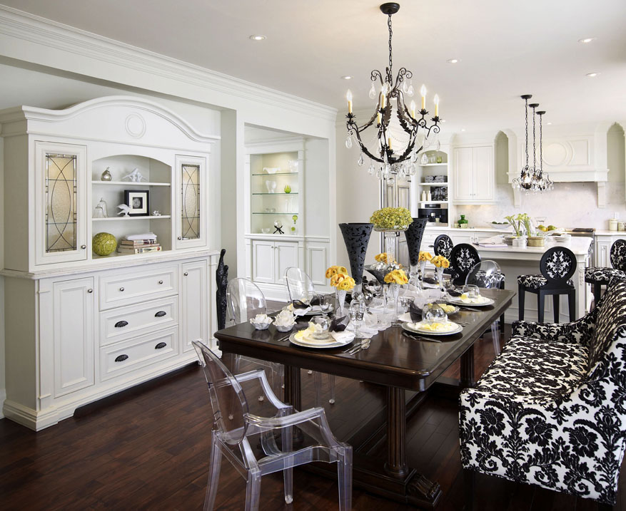 Selecting dining room crystal chandeliers blog chateau wrought iron and crystal chandeliers Regina Sturrock Designs
